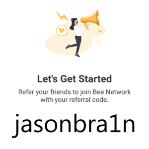 Bee.com referral code: jasonbra1n